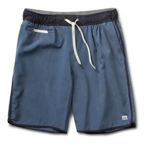 Vuori Men's Banks Shorts - Navy Blue - Large